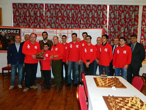 Sestao Naturgas Energia Campeón de España 2012