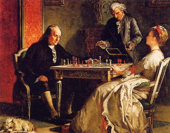 frank mayer benjamin franklin su vida y el ajedrez