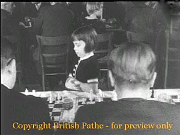 Jutta Hempel – una niña prodigio del ajedrez