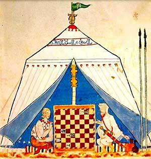 """Alfonso X """"Libro de acedrex, dados e tablas"""" (Fuente: http://www.tabladeflandes.com/frank_mayer/Libro_de_acedrex_dados_e_tablas_2.jpg)"""