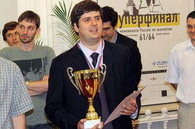 Svidler gana su sexto Campeonato de Ajedrez de Rusia Martes, 16 de agosto 2011
