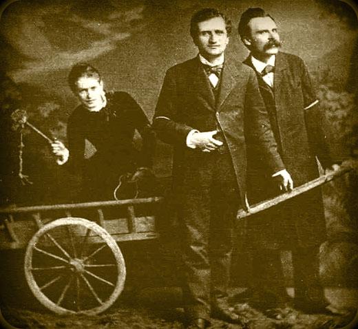 Friedrich Nietzsche, Lou Salomé y Paul Rée