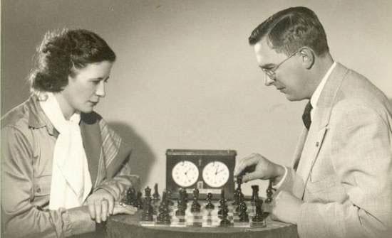 Graf y Euwe. 1933 / 1934. De la colección Mädler