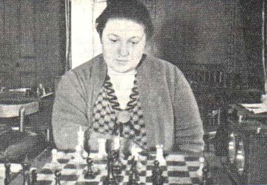 Vera Menchik en 1938
