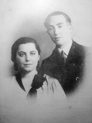 Don Miguel y su eposa Genia En Varsovia