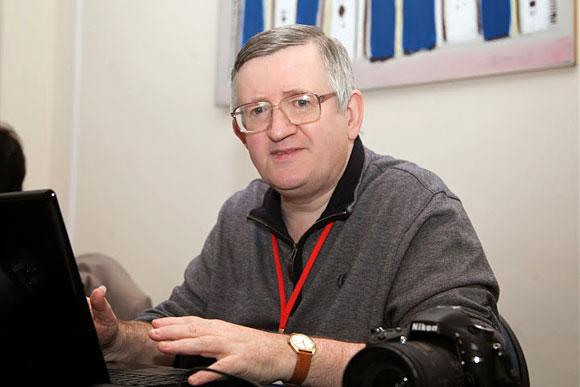 Fotógrafo oficial. John Saunders