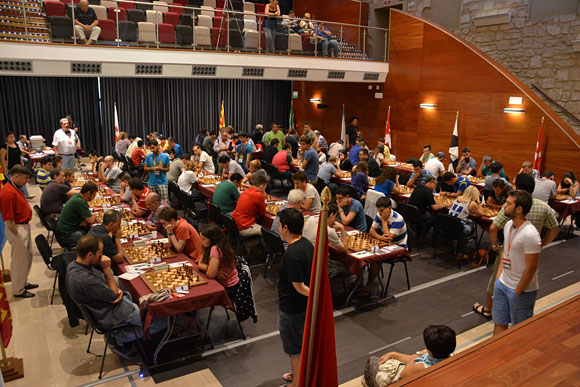 Campeonato España Absoluto y Femenino. Linares. 2014. Ronda 1