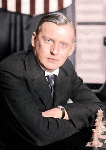 Alexander Alekhine en 1924
