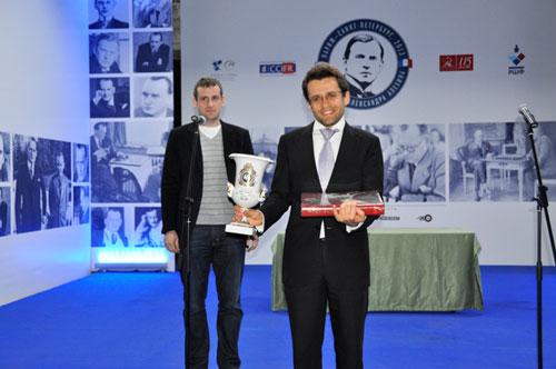 Aronian vencedor Alekhine 2013