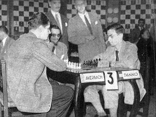 Averbach vs Panno Buenos Aires 1954