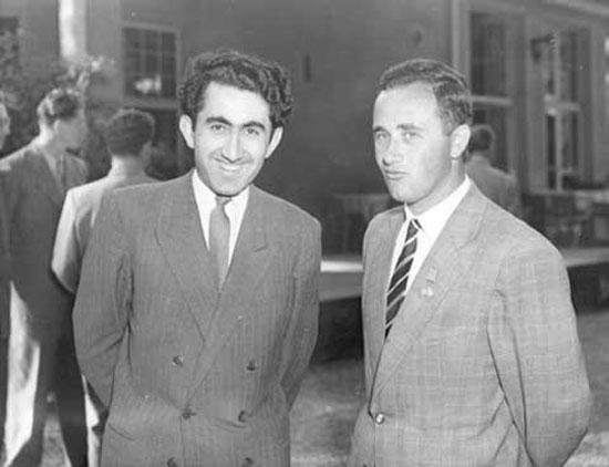 Averbach y Geller en Zurich 1953