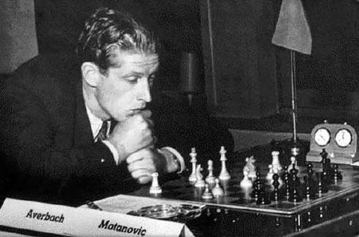Averbakh - Matanovic Saltsjobaden 1952