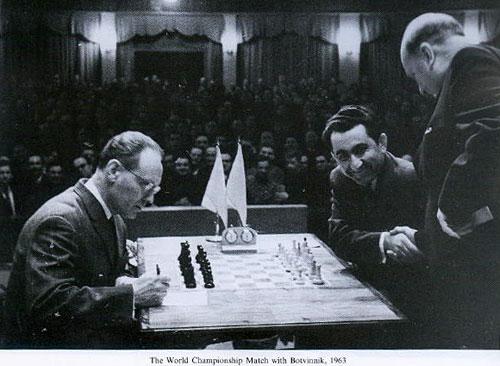 Botvinnik Vs Petrosian 1963