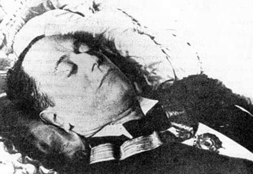 José Raúl Capablanca muerto