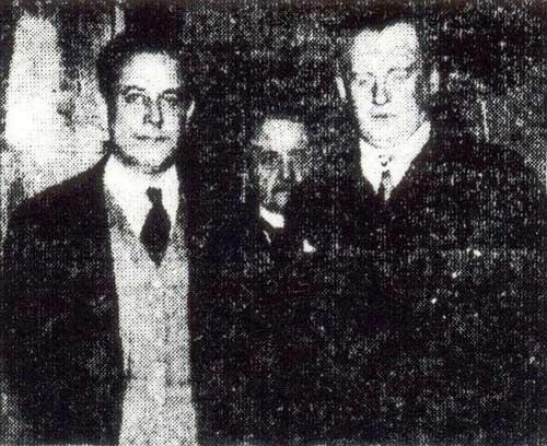 Capablanca y Alekhine, diario Crítica, 18 de septiembre de 1927