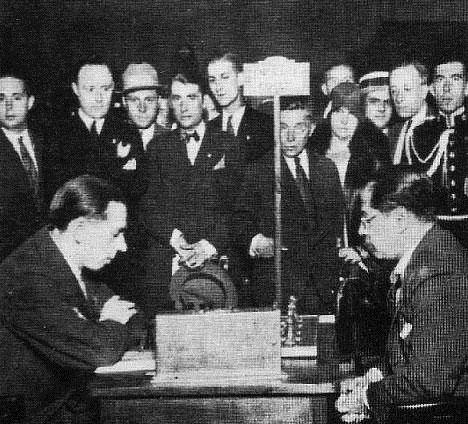 Colle vs Capablanca Barcelona 1929