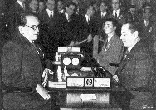 Czerniak Capablanca Buenos Aires 1939 preliminares