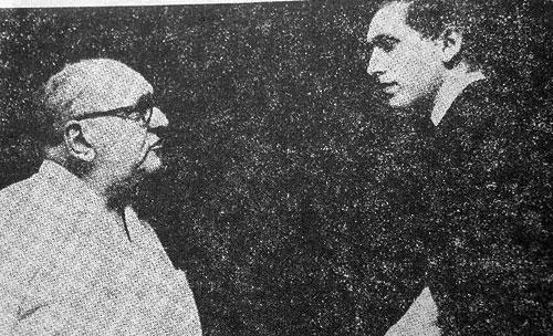 Czerniak y Fischer del libro Ad Ha'ragli Ha'acharon, (Luchando hasta el último peón), de Yochanan Afek y Horatio Volman