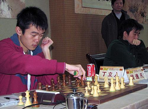 Ding Liren Campeón de China 2011, por 2ª vez