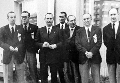 El equipo olímpico argentino de 1952