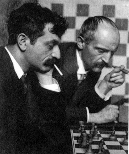 Emanuel y Berthold Lasker