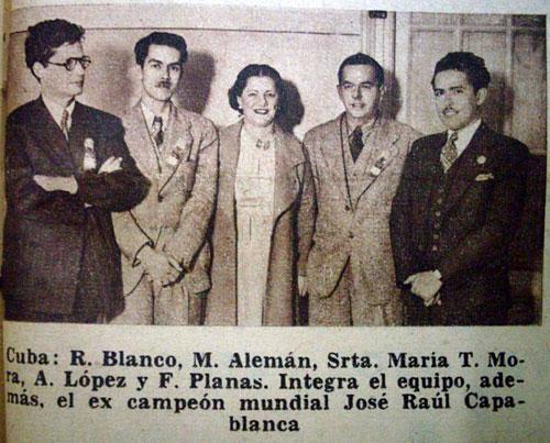 Equipo cubano Buenos Aires 1939