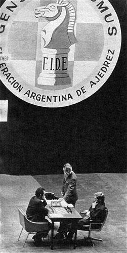 Fischer vs Petrosian Buenos Aires 1971
