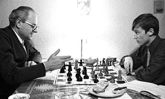 Furman y Karpov en 1970