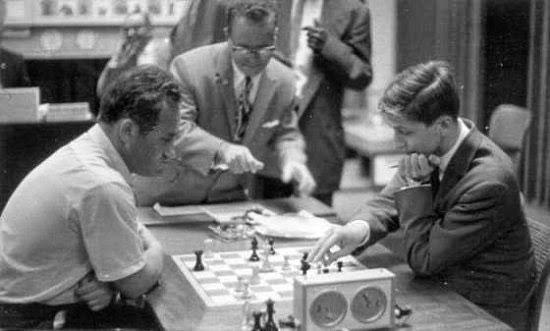 Geller y Fischer en Curazao 1962
