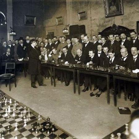 Lasker en Holanda en 1920