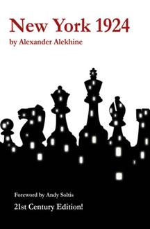 Libro de Nueva York 1924 de Alekhine en inglés