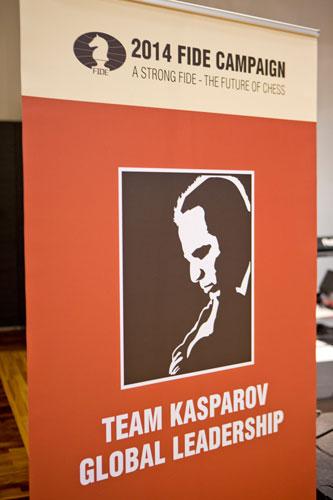 Logo de la campaña de Kasparov