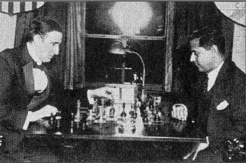Marshall y Capablanca