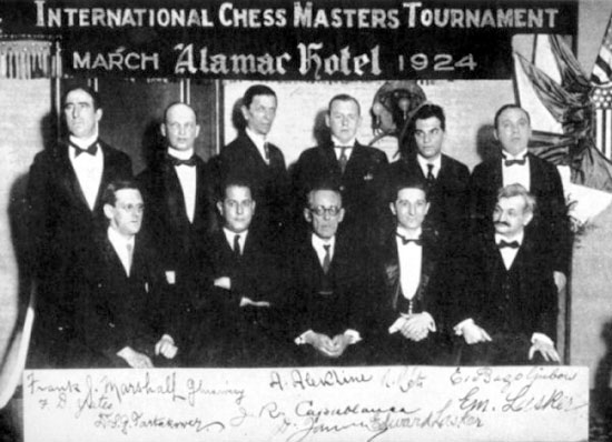 New York Chess Tournament 1924