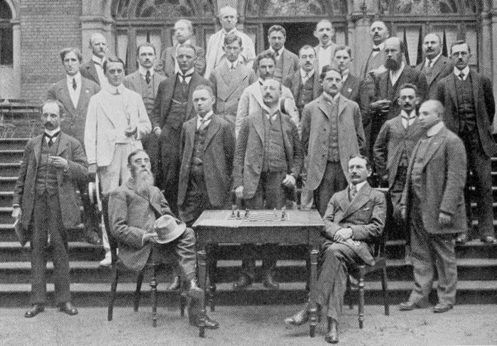Participantes de Breslavia 1912