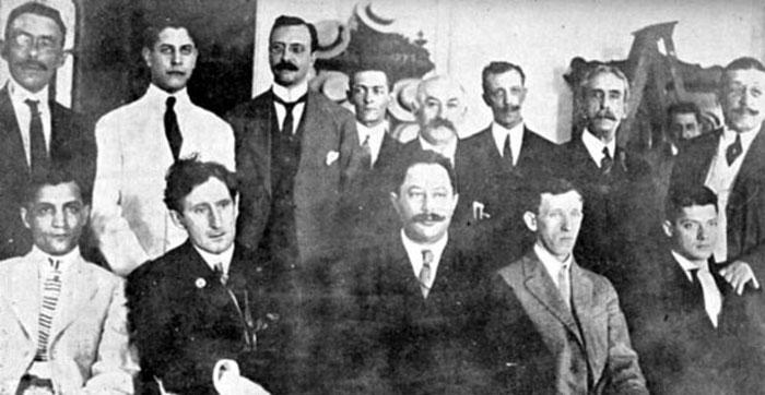 Participantes de La Habana 1913