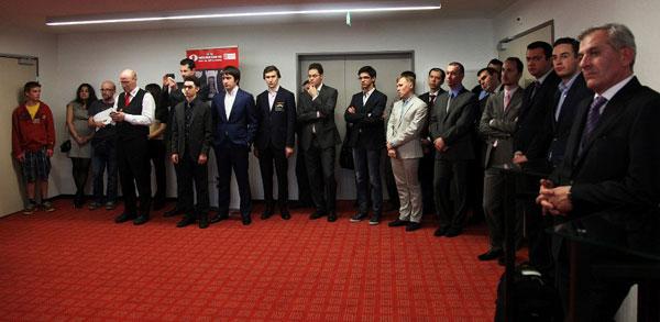 Participantes el Grand Prix de Zug 2013