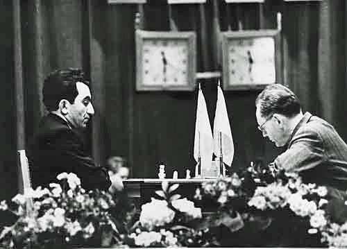 Petrosian vs Botvinnik, Moscú 1963