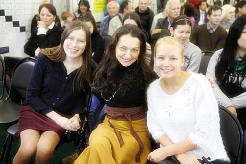 Pogonina, Kosteniuk y Gunina