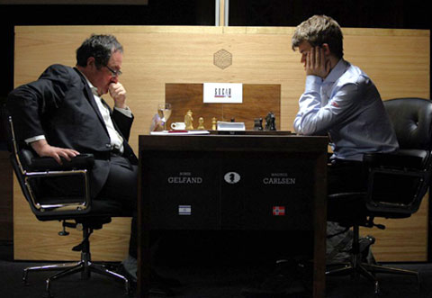 R 3 Gelfand vs Carlsen