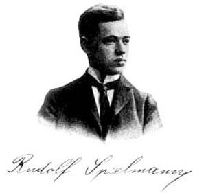 Rudolf Spielmann cerca de 1903