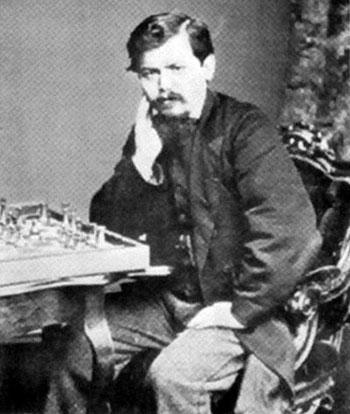 Steinitz en 1866
