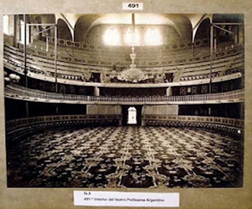 Teatro Politeama Sede de la Olimpiada de Buenos Aires 1939