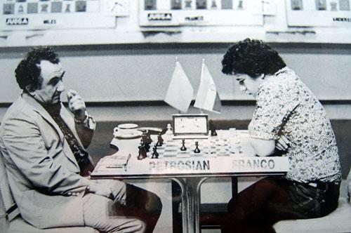 Tigran Petrosian y Zenón Franco, II Torneo Clarín, Buenos aires 1979