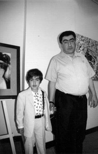Vardan y Tigran Petrosian, nieto del campeón mundial.